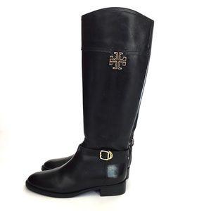 8af1c858d752 Tory Burch Shoes - Tory Burch Eloise Riding Boots gold emblem size 7M
